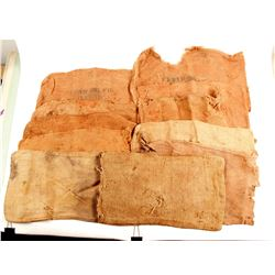 Burlap Ore Bags - Marked and Unmarked  (88651)