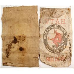 Canvas Red Devil Cement Bag and Burlap Bag  (88618)