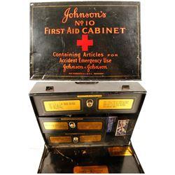 Johnson & Johnson Metal First Aid Kit  (87400)