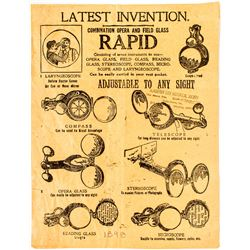 Latest Invention Advertising Paper  (50276)