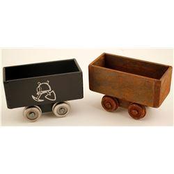 Mini Mining Ore Cars (2)  (87165)