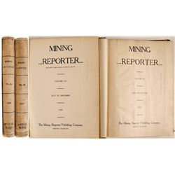 Mining Reporter Bound Volumes  (81158)
