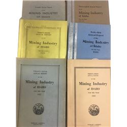 Idaho Mining Books (6)  (86675)