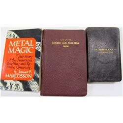 ASARCO Books (3)  (62179)