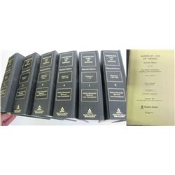American Law of Mining Books  (88518)