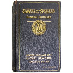 Massco Mine and Smelter Supply Co Catalog  (86262)