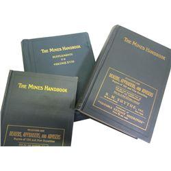 Mines Handbook, 2 Vols  (86254)