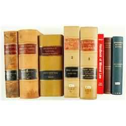 Mining Law Books (8)  (84809)