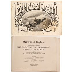 Bingham, The Greatest Copper Camp in the World Nooklet  (86455)