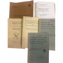 Utah Uranium Books (6)  (86652)