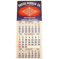 Austin Powder Co. Color Calendar  (87179)
