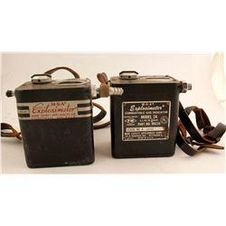 MSA Explosives Meters (2)  (87437)