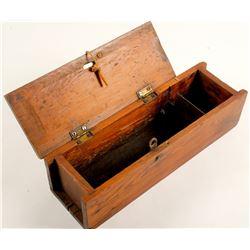 Wooden Box for Blasting Caps Tins?  (58711)