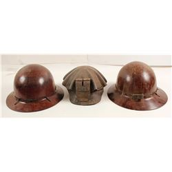 Miners Hats (3)  (87379)