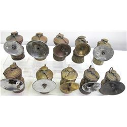 Assorted Carbide Lamps (10)  (86616)