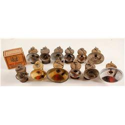 Carbide Lamp Collection (12)  (87369)
