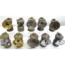 Guy's Dropper Carbide Lamps (10)  (86617)