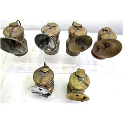 Guy's Dropper Carbide Lamps 6 Different  (86612)