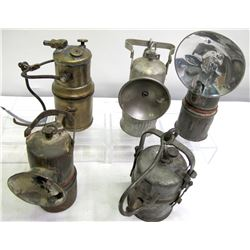 Supt. Mining Lamps (5)  (86618)