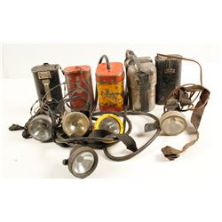 Underground Mining Lamps (5)  (87339)
