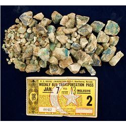Ore Sample from Old White Leghorn Mine near Cherry, Arizona  (88629)