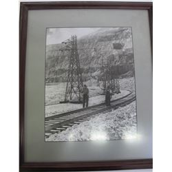 Kennecott Utah Copper Framed Photo  (88348)