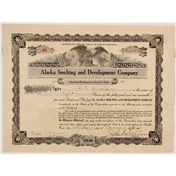 Alaska Smelting and Development Company Stock  (88070)