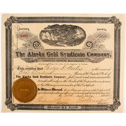 Alaska Gold Syndicate Company Stock  (88044)