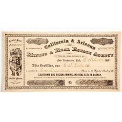 California and Arizona Mining & Real Estate Agency  (88022)