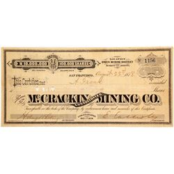 McCrackin Consolidated Mining Company Stock  (88021)
