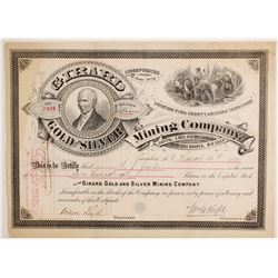 Girard Gold and Silver Mining Company Stock  (88139)