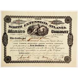North Extension Atlanta Mining Company Stock  (88011)