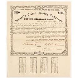 Rosario Silver Mining Company Stock Certificate  (88018)