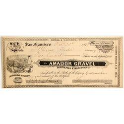 Amador Gravel Mining Company Stock  (88144)