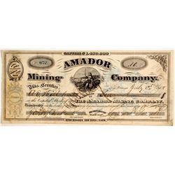 Amador Mining Company Stock  (88145)