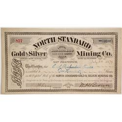 North Standard Gold and Silver Mining Company Stock  (86142)