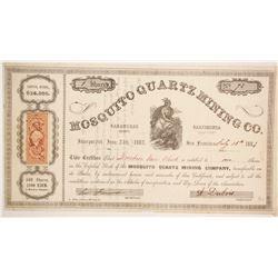 Mosquito Quartz Mining Company Stock  (86054)