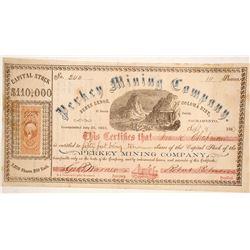 Perkey Mining Company Stock  (86047)