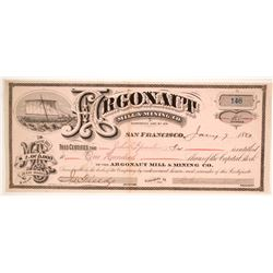 Argonaut Mill & Mining Company Stock  (86177)