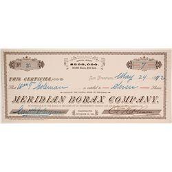 Meridian Borax Company  (86714)
