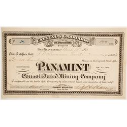 Panamint Consolidated Mining Company  (86710)