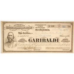 Garibaldi Mining Company - G. T. Brown lithographer  (86707)