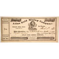 Atlas Gold Mining Company Stock  (86171)