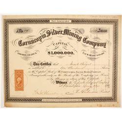 Cornucopia Silver Mining Company Stock  (87938)