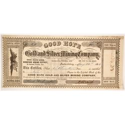 Good Hope Gold and Silver Mining Company  (86169)