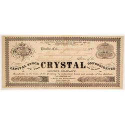 Crystal Consolidated Mining Company Stock  (87906)