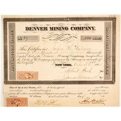 Denver Mining Company Stock  (86031)