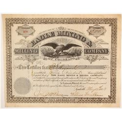 Eagle Mining & Milling Company of Colorado Stock  (86724)