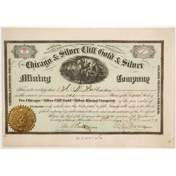 Chicago & Silver Cliff Gold & Silver Mining Company Stock  (86734)