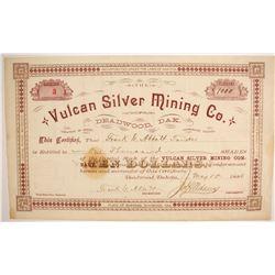 Vulcan Silver Mining Company Stock  (87904)